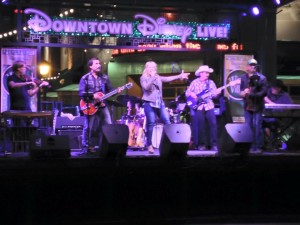 SMITH band at Disneyland - Anaheim - California.  Country rock music is good.