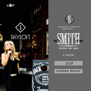 SMITH live music near me Laguna Beach CA Country cover band
