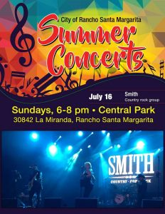 SMITH country band Rancho Santa Margarita CA